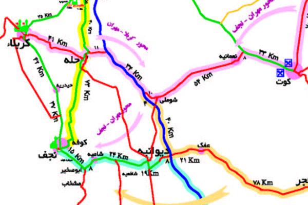 راهنمای سفر پیاده کربلا (ویژه اربعین)